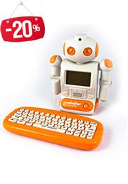 Ноутбук обучающий на РУМ. яз. - ROBOTOP /67159/