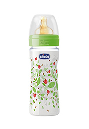 Бутылочка Chicco Well-Being 250 ml, соска латекс 2+, Neutral /58570/