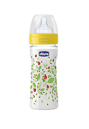 Biberon Chicco Well-Being 250 ml, silicon 2+, Neutral /58662/