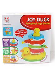 Пирамидка-каталка Joy Duck /57329/