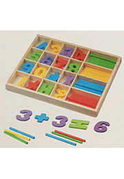 Набор для счёта деревянный STUDY BOX /78795/