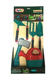 Игрушечный набор садовых инструментов, 6 элементов /46983/