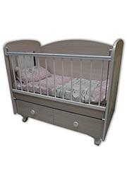 Кроватка детская DOUBLE NEW Bambini