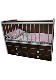 Кроватка детская KVADRO Bambini