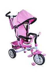Трицикл Lorelli B-302A Pink&White