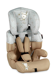 Scaun auto 9-36 kg Lorelli JUNIOR Beige&Grey Indian Bear