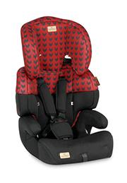 Автокресло 9-36 kg Lorelli JUNIOR Red&Black
