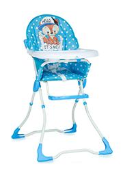 Scaun de masa Lorelli MARCEL Blue Baby Fox