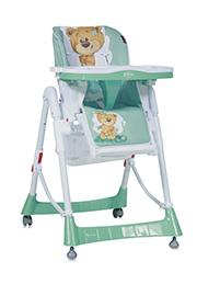 Стульчик для кормления Lorelli PRIMO Green Cute Bear