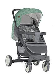 Carucior p/u copii Lorelli S-300 Grey&Green 2018