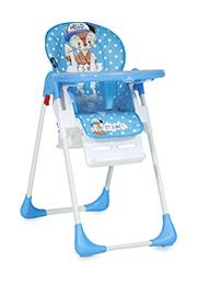Scaun de masa Lorelli TUTTI FRUTTI Blue Baby Fox