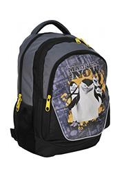 """Школьный рюкзак """"Пингвины Мадагаскара"""" PASO /18720/"""