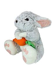 Кролик с морковкой (цветком), 55 см /11027/