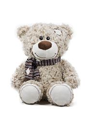 Ursuleț cu eșarfa, 25 cm /30178/