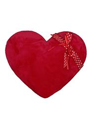 Inima de pluș  cu o panglică, 35 cm /81602/