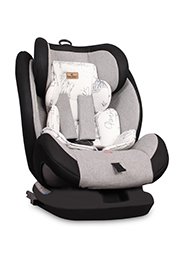 Автокресло 0-36 кг Lorelli CORSICA Isofix Black&Grey CITIES