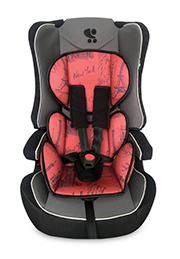 Автокресло 9-36 kg Lorelli EXPLORER Black&Red CITIES