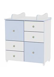 Comod p/u copii Lorelli New White/Blue