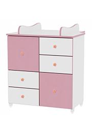 Comod p/u copii  Lorelli New White/Pink