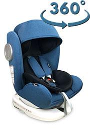 Scaun auto 0-36 kg Lorelli LUSSO SPS Isofix Blue&Black