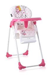 Стульчик для кормления Lorelli OLIVER Pink Ballet