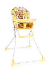 Scaun de masa Lorelli COOKIE Yellow BEAR
