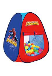 Палатка игровая SPIDERMAN + 100 шариков /95654/