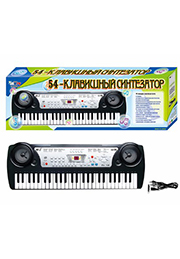 Синтезатор с микрофоном, 54 клавиши /232657/