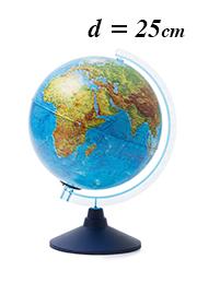 Интерактивный глобус Globen INT12500285, d=25 см