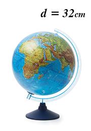 Интерактивный глобус Globen INT13200289, d=32 см