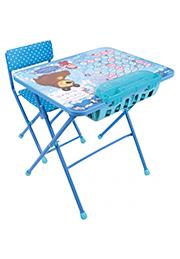 "Set birou cu scaunel ""Masha și Ursul"""