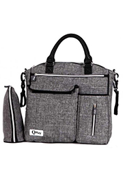 Сумка для мамы PRACTICAL+termobox Q-Play Dark Grey /10040120004/