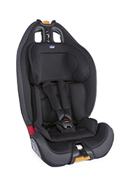 Автокресло 9-36 кг CHICCO Gro-up Jet Black