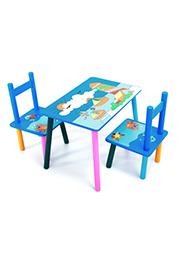 Set masuța cu 2 scaunele /415148/