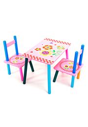 Set masuța cu 2 scaune /15155/