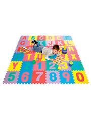 Covoraș puzzle Litere și Cifre, 36 buc. /52808/