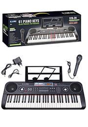 Детский обучающий синтезатор, 61 клавиша /394842/