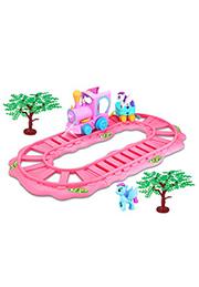 Игровой набор Железная дорога Romantic Merry /317647/
