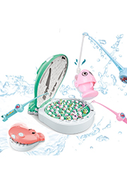Электронная игра-рыбалка Hippo /915799/