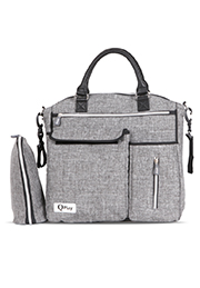 Сумка для мамы PRACTICAL+termobox Q-Play Light GREY /10040120001/