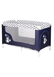 Кровать-манеж Lorelli SAN REMO 1 Blue&White Pinguin
