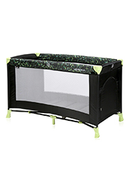 Кровать-манеж Lorelli VERONA 1 Black&Green Dots