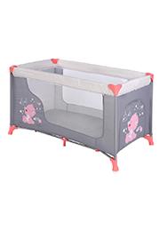 Кровать-манеж Lorelli MOONLIGHT 1 Pink&Grey My Baby