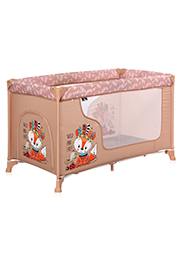 Кровать-манеж Lorelli MOONLIGHT 1 Beige Foxy