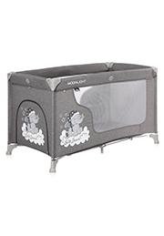 Кровать-манеж Lorelli MOONLIGHT 1 Grey Luxe