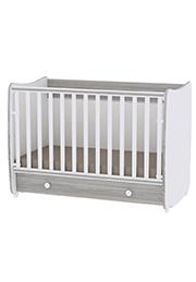 Кроватка детская Lorelli DREAM New White Artwood