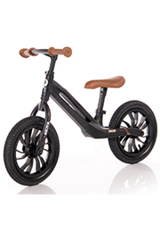 Bicicleta fara pedale QPlay RACER Black&Brown
