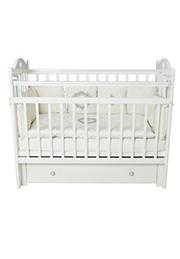 Кроватка деревянная SOFA White