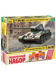 Сборная модель - Советский средний танк Т-34/85 (обр.1944г) /136879/