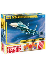 Сборная модель - Советский истребитель СУ-27 /172068/